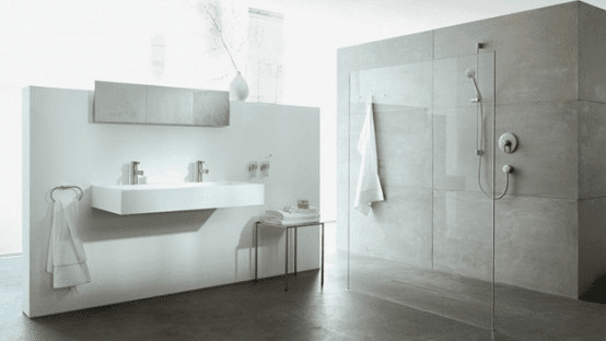 Home Space White Bath