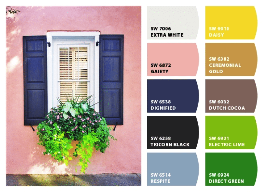 Chip It Color Palette Charleston Home