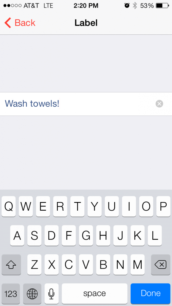 alarm-screenshot-towel-drying