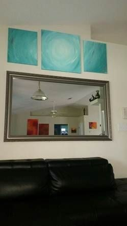 fmm customer with le flore frame framed builder basic mirror