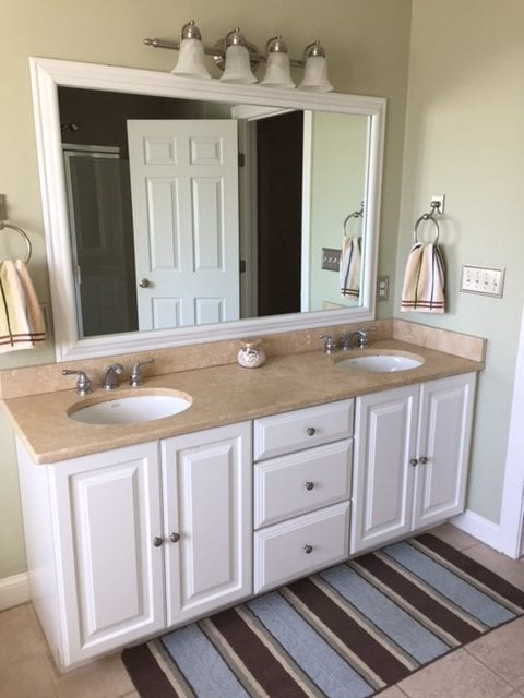 Customer Photo Dream Bathroom With The Humbolt Reverse Frame In White