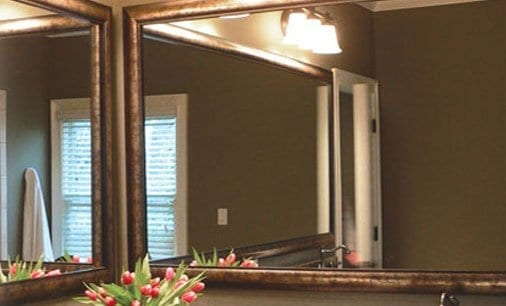 Custom Framed Mirrors Built To Your Specifications. Simply Choose Your  Style And Enter Your Size.