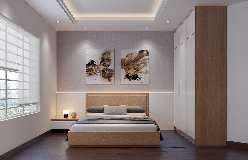 contemporary and modern bedroom