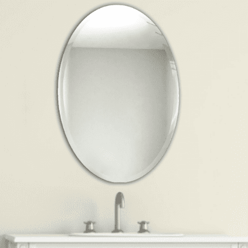 Liberty Beveled Oval Mirror Frame My Mirror