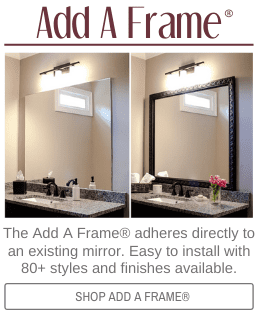 Frame My Mirror Diy Kits