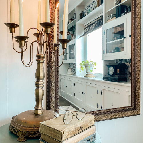 Lincoln Gold - Framed Mirror